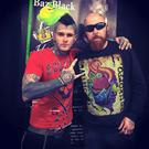 Baz Black with piercer Nick Pinch