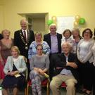 Pictured are members of the Termonfeckin and Clogherhead Family Carers group at the recent launch and open day