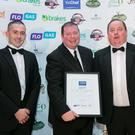 Representatives from County Louth Golf Club at the Yes Chef Awards where Mick Devine from County Louth Golf Club won Best Golf Club Dining