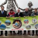 At the launch of the North East Association of Environment Groups, Cllr Frank Godfrey - Cllr Paddy Meade - Ruth Rowntree, Nobber - Pat O Brien, Duleek - Cllr Stephen McKee - Olan Hare, Dundalk - Michael O Dowd, Drogheda