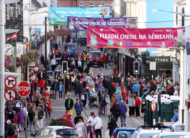 Fleadh Cheoilna hÉireann 2018 will take place in Drogheda, Co. Louth from Sunday 12th to Sunday 19th August 2018. It will feature workshops for young musicians, competitions, concerts, singing, céilis and lots of fun throughout the week