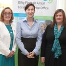 At the recent National Women's Enterprise Day Conference at City North Hotel were Regina Behan of Network Louth, Caroline Keeling of Keelings and Sarah Mallon of Local Enterprise Office Louth