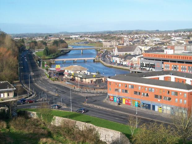 A view of Drogheda