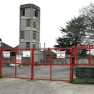 The old fire station site, where work on the new housing project will begin in January