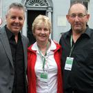Gay and Kay Howard with Stephen Roche