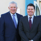 Fergus O'Dowd with Minister Paschal Donohoe