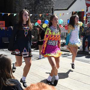 Dancing queens during Music at the Gate