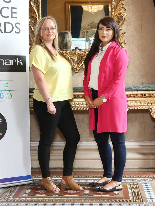 Jane McCoy and Tracy McCane from the Drogheda salon
