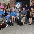 The Drogheda Credit Union has been hosting a series of Fleadh Sessions near their Drogheda branch in Laurence Street, to get people in the mood for the main event in August