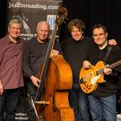 Musicians Frank Ricotti, Christopher Laurence, Martin France and John Parricelli appearing at the Boyne Music Festival