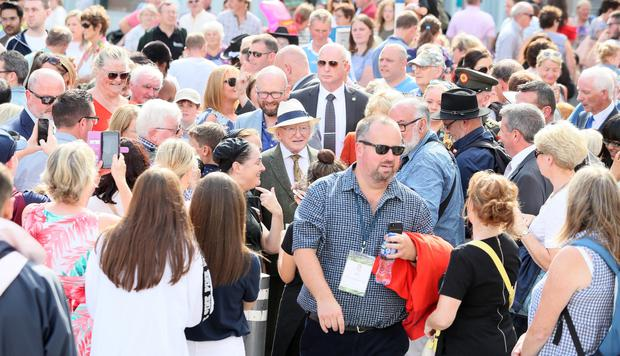 West Street was packed for the Fleadh.