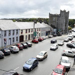People parking all day are taking up parking spaces in Ardee