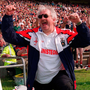 Paddy celebrates victory over Offaly and winning Division 2 in 2000