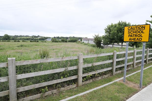 The site for the new estate at the rear of Dunleer NS