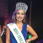 The new Miss Ireland, Chelsea Farrell from Ardee