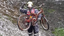 Members of Drogheda River Rescue teamed up with Ardee Litter Watch group to help clean up a section of the river Dee, retrieving items including bikes