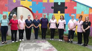 Staff at Moneymore Childcare Centre.