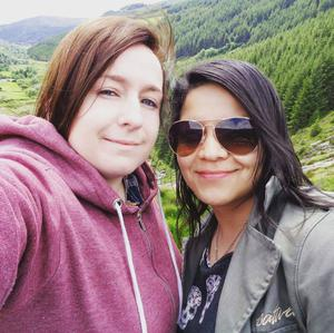 Aideen Rogers and Michelly Goia