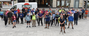 There was a good turnout for the Camino