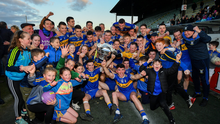 Ratoath players and supporters celebrate after last year's Senior Championship triumph in Pairc Tailteann. Picture: Sportsfile
