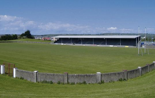 The GAA County Grounds in Drogheda