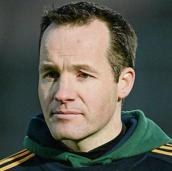 Mick O'Dowd, Meath manager.