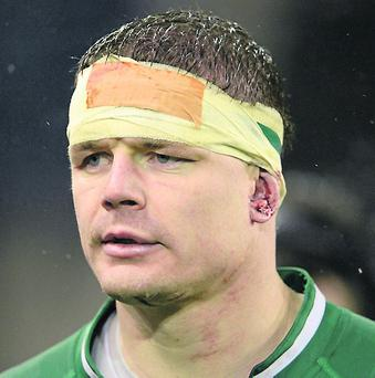 Ireland's Brian O'Driscoll. Photo: Diarmuid Greene / SPORTSFILE
