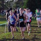 Alan Connor (Dunleer AC) sets a hot pace during the Under-15 race