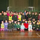 Boyne's athletes gather at the club's Indoor Sports in Gormanston College