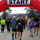 Duleek & District duo Ray Cassin and John Wall at the Achill Island Ultra Marathon