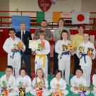 Prize-winners at Drogheda School of Karate's 40th Annual Easter Competition.