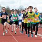Paddy Price leads from the outset in the Under-11 600m race
