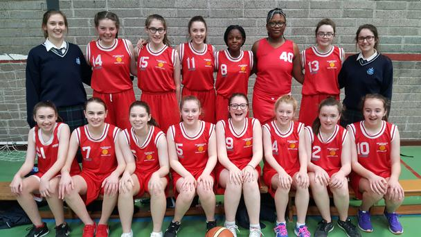 Our Lady's College Greenhills' First Year Minor B team