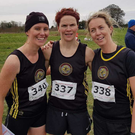 Dunleer AC trio Nicola Welsh, Karen Costello and Nicola Courtney.