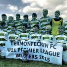 Triumphant: Termonfeckin Under-11s.