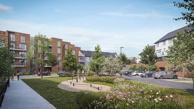 Image of the proposed Corballis East development at Donabate.