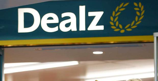 The Dealz store in Santry was forced to close for the day after the incident