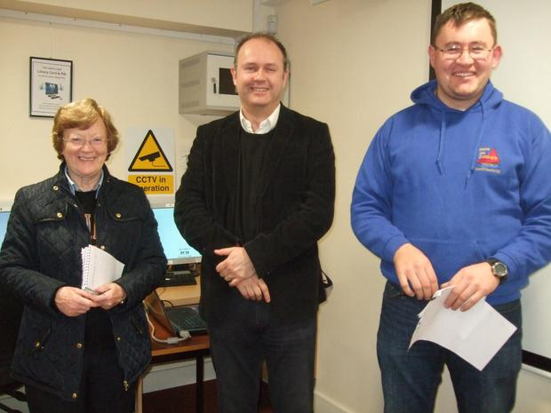 Bunclody Library hosted a talk on tracing family trees