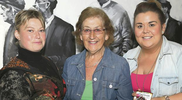 Elena Vorotnikova, Cathy Quirke and Lisa Power