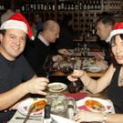 Massimo Lanzillotti and Elizabeth Browne enjoying a meal in Alba Italian restaurant, Enniscorthy