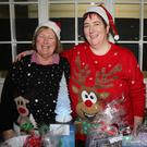 Marie Meaney and Ester Bradley at the annual St. Patrick's Special School Craft Fair