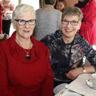 Mary McKay and Maggie Durnell at the coffee morning at the home of Linda Tobin-Kavanagh in aid of Hospice Homecare