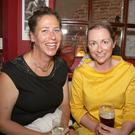 Aoife Banville and Fiona O'Shea at the 'Plays In A Pub' in Holohan's Pub as part of the Wexford Literary Festival