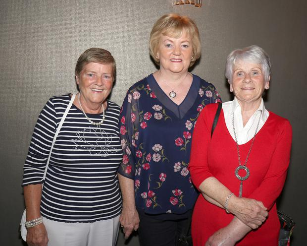 Patti Jordan, Margaret Cahill and Lily Doran at the Marshalstown/Castledockrell Parish Dance in the Riverside Park Hotel.