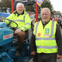 John Dunne and Willie Sharkey at the Courtnacuddy Tractor Run on Sunday