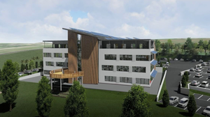 An artist's impression of the proposed new building to be constructed in Enniscorthy Technology Park