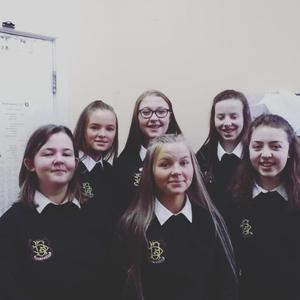 The members of Future Fashion from FCJ, Bunclody