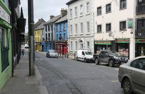 Templeshannon from Waterfront Swimming pool to the old bridge junction to be pedestrianised