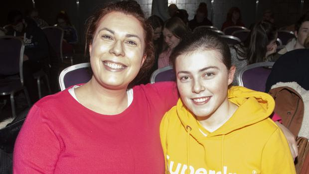 Michelle and Chloe Murphy from Ballymurn at the Credit Union's What Next event