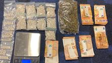The drugs seized recently in the Ballagh